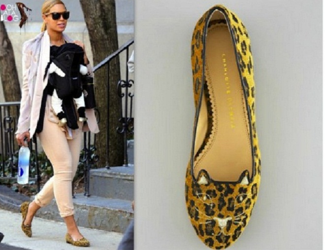 BEYONCE-IN-CHARLOTTE-OLYMPIA-CAT-FACE-LEOPARD-FLATS-500x391