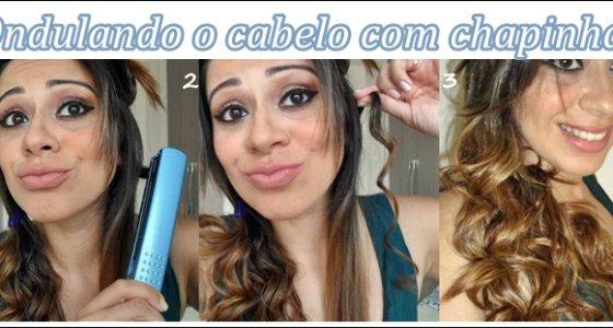 Vídeo:Ondulando o cabelo com Chapinha