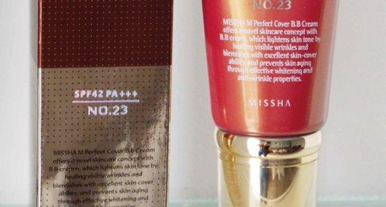 Resenha: Perfect Cover B.B Cream da Misha