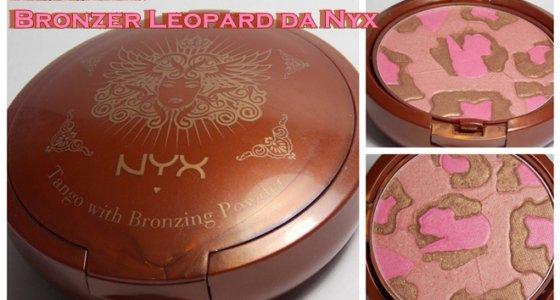 Bronzer/Blush: Wen Leopard Gets a Tan da Nyx