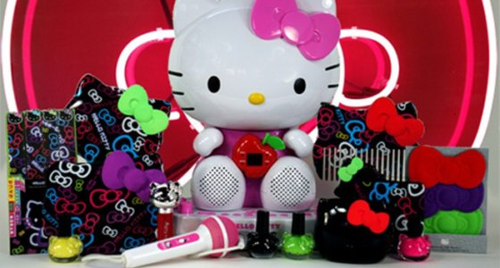 Hello Kitty Tokyo Pop 2013 makeup collection by Sephora