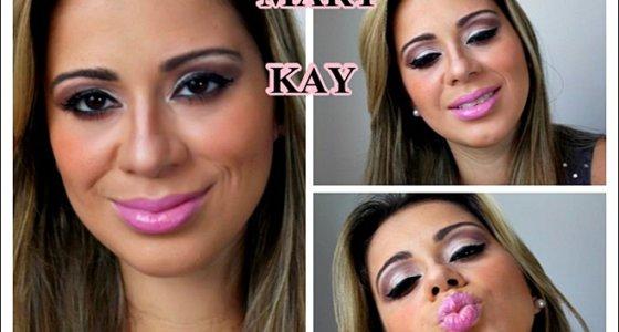 Tutorial de maquiagem com sombras Mary Kay