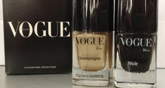 Hits Speciallità e Vogue Brasil lançam dupla de esmaltes