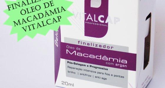 Testado e aprovado: Óleo de macadâmia com Argan Vitalcap