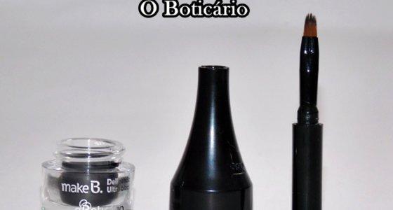 Resenha: Delineador em Gel Black Crystal / O boticário
