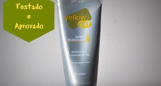 Testado e aprovado: Shampoo desamarelador yellow off | Yenzah