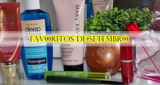 Vídeo: Produtos mais usados/ Favoritos de Setembro 2013