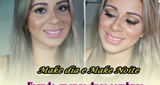 Tutorial: Transformando Maquiagem Dia em maquiagem Noite usando duas sombras