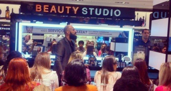 Masterclass Make Up For Ever e comprinhas na The Beauty Box