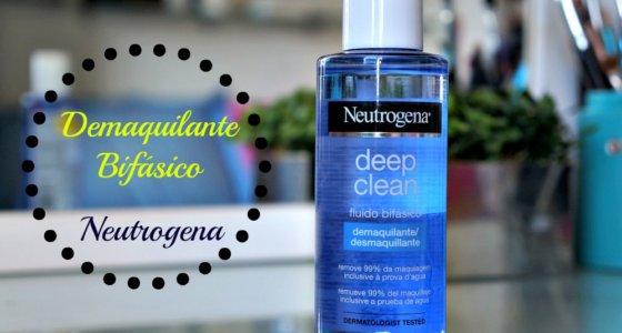 Neutrogena Deep Clean Fluído Bifásico Demaquilante