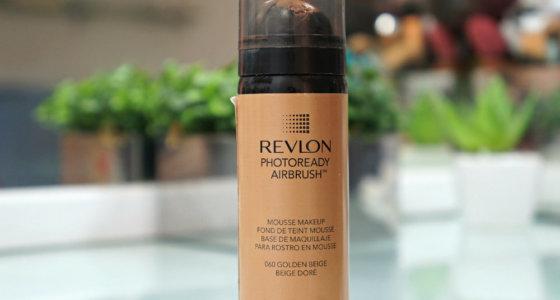 Resenha: Base Photoready Airbrush Revlon