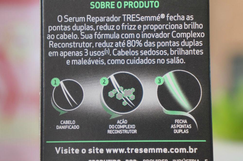 Sérum Reparador Split Remedy da Tresemmé.