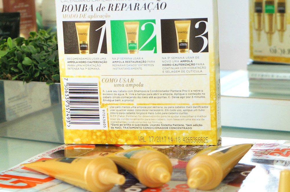 Kit Bomba de reparação Pantene | Summer Edition