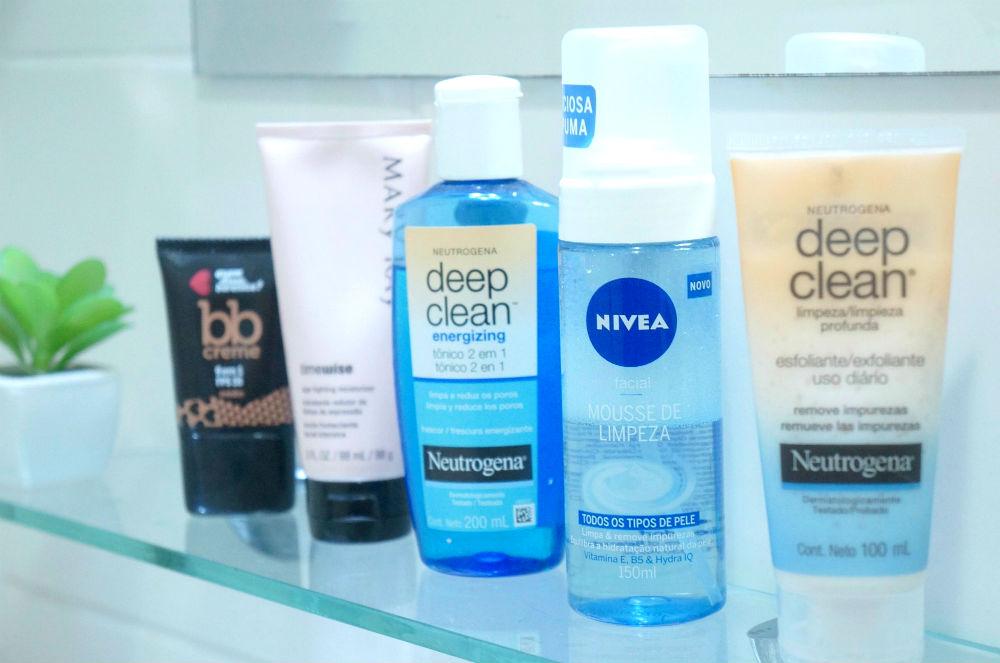 produtos para a pele