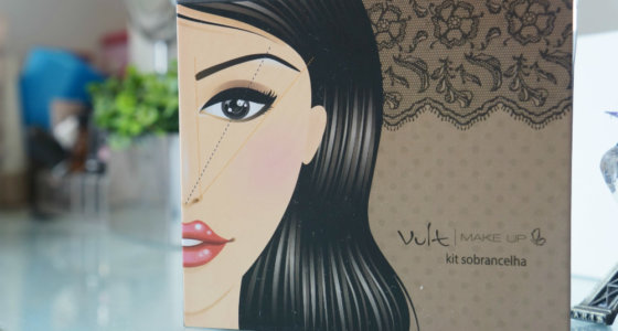 Resenha: Kit para sobrancelha | Vult