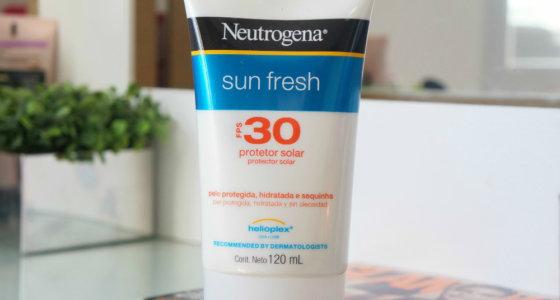 Protetor solar | Neutrogena Sun Fresh FPS 30