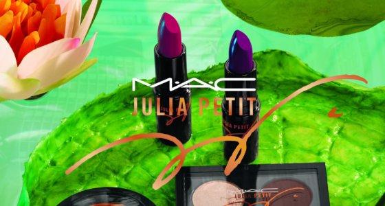 Coleção Julia Petit para MAC