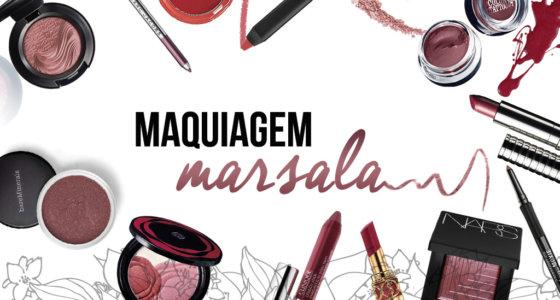 Marsala| A cor de 2015 na maquiagem