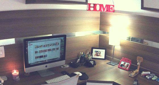Tour pelo meu Home office