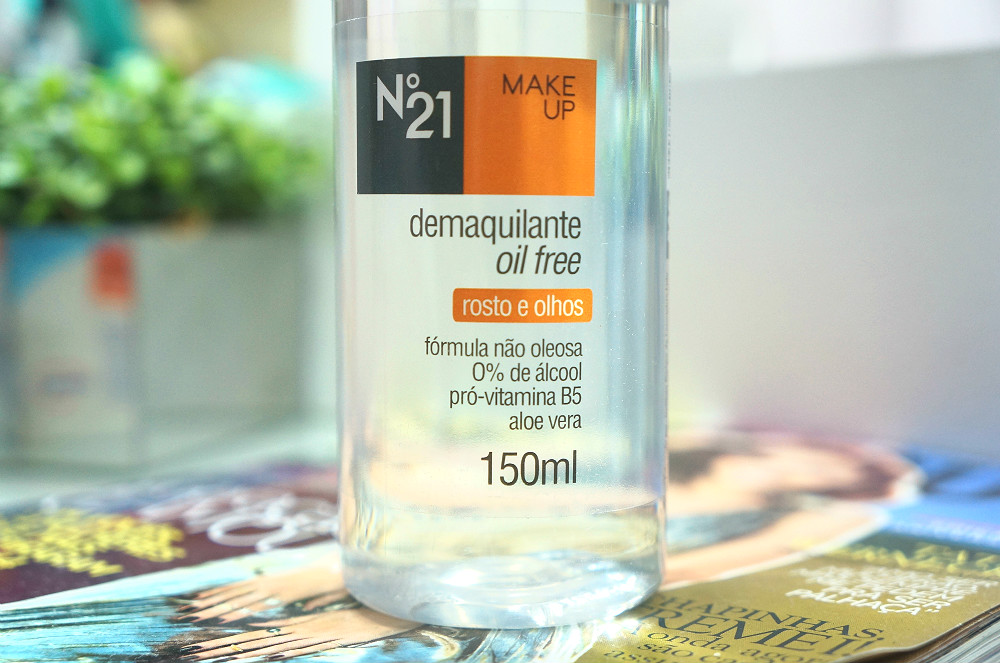 Demaquilante -oil -free- Nº 21