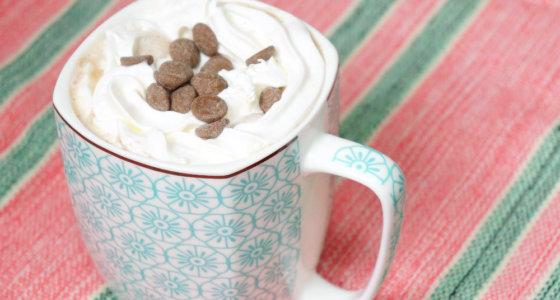 Receita: Chocolate quente delicia