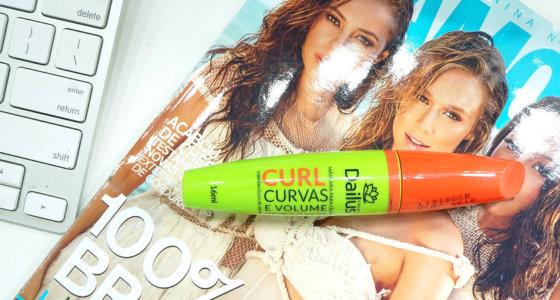 Máscara para cílios Curl curvas e volume Dailus