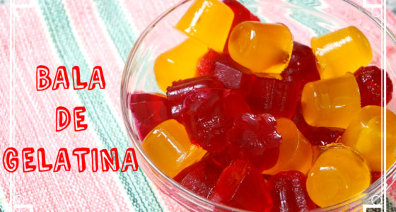Receita de bala de gelatina