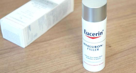 Creme antiidade Eucerin Hyaluron-Filler | pele normal a mista