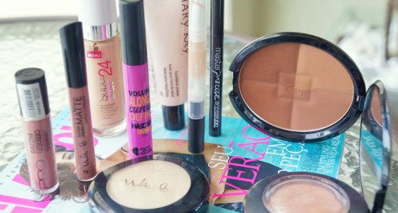 Produtos mais usados nos últimos dias | Maquiagem