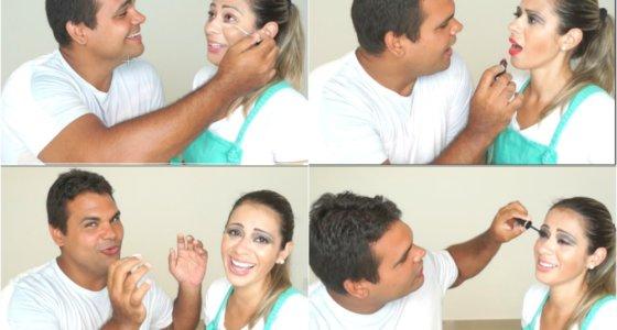 Tag: Marido maquiando