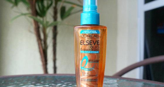 Spray Nutrição e proteção óleo extraordinário Elseve