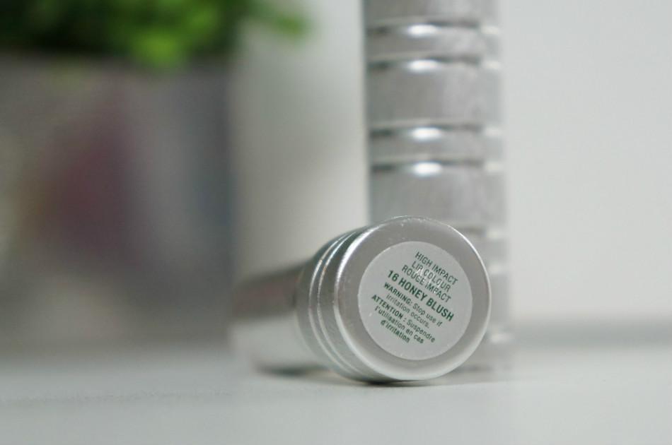 Batom- high- impact -lip- colour - honey -blush- Clinique