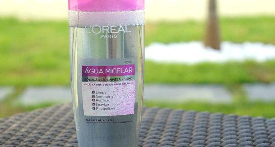 Água micelar Lóreal | Solução de limpeza 5 em 1