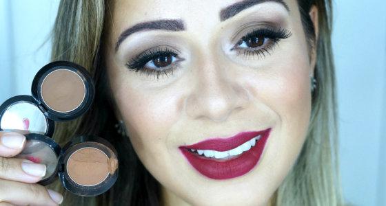 Maquiagem marrom express + sombras marrom favoritas