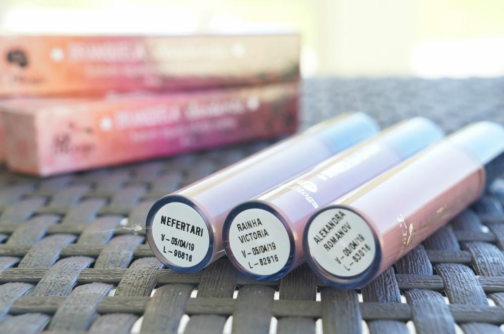 Batons- líquido- matte- coleção- Neutral- queens - Liz -branquela