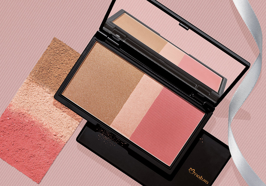 Pallete multicor radiance Natura Una