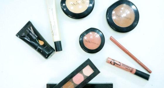 Preparação de pele leve e iluminada usando produtos da Vult.