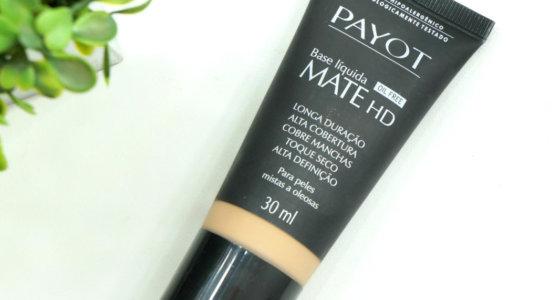 Resenha : Base líquida matte HD Payot