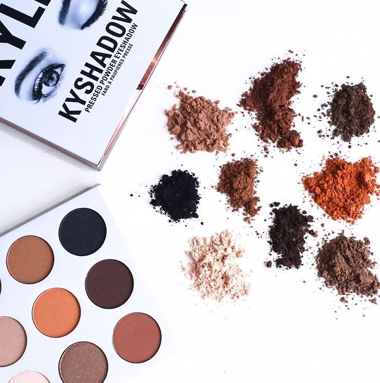 Bronze- palette- Kyshadow-kylie-jenner-review