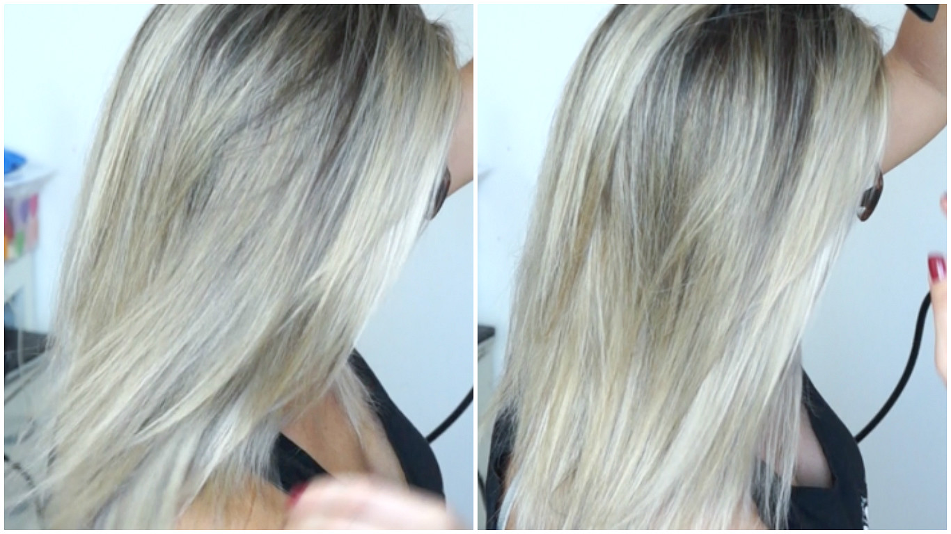cabelo e vinagre