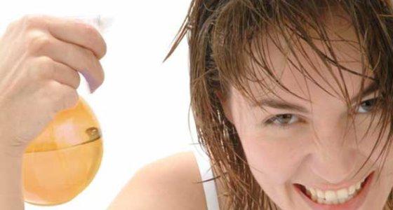 Vinagre de maça nos cabelos | Mais brilho e maciez