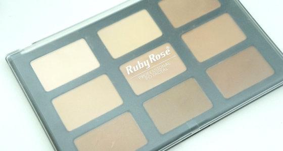 Paleta de pó/contorno Ruby Rose