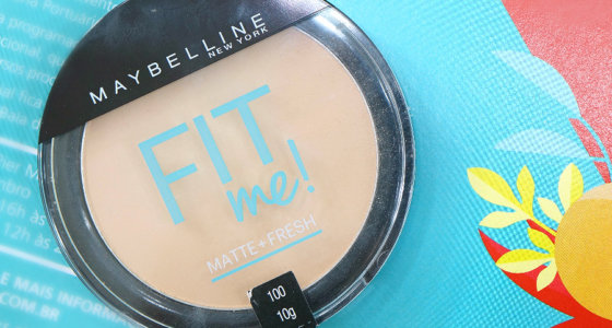 Fit me Maybelline pó facial claro sutil