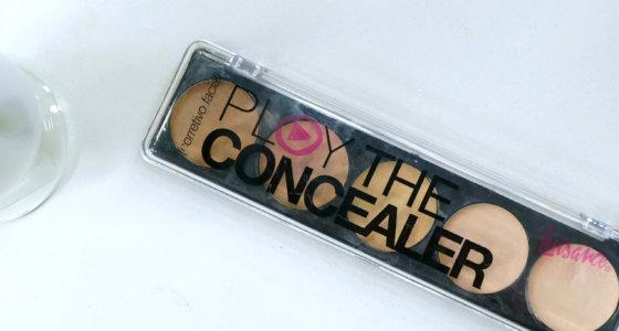 Paleta de corretivo play the concealear Luisance