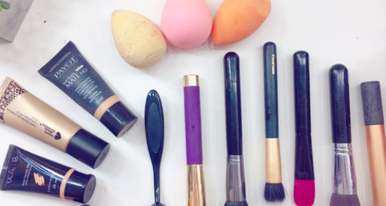 Aprendiz de maquiadora: Bases| Aplicação, textura, favoritas e pincéis