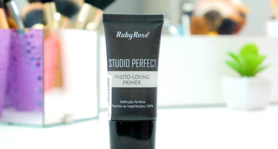 Resenha: Primer facial Studio Perfect Ruby Rose