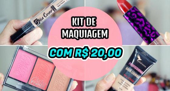 Comprinhas de maquiagem com apenas R$ 20,00 no Mercadão de madureira