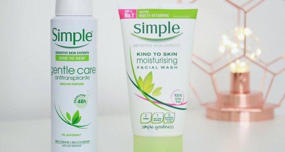 Produtos simple : Cosméticos para pele sensível
