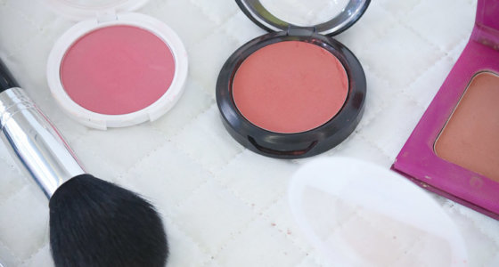 Top 5 blushes / contornos favoritos