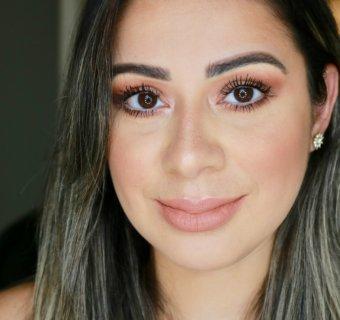 Tutorial de maquiagem Rose Gold